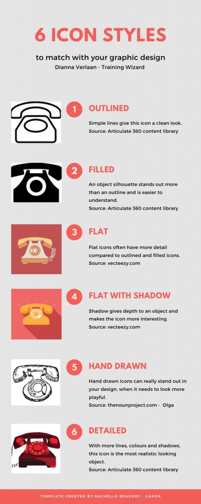 infographic icon styles