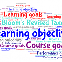 Learning objectives: about the what, how and who